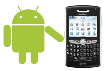 Les applications Android bientôt sur BlackBerry !