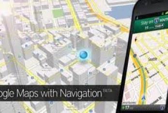 Mise à jour Google Maps pour Android.