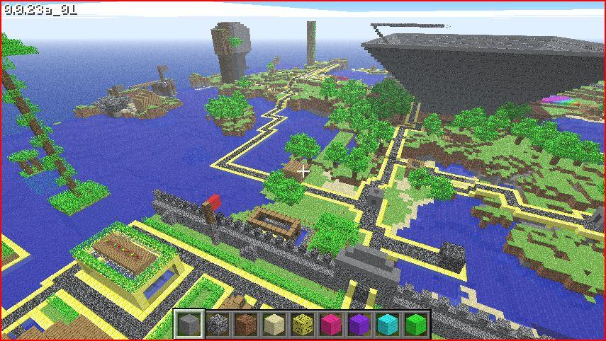 Minecraft, des cubes, des cubes et des cubes …
