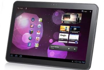 La Galaxy Tab 10,1 testée !