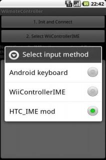 Wiimote Controller c