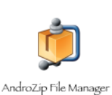 AndroZip: Gérez vos fichiers compressés!