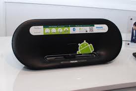 Des enceintes Philips accueillent votre Android