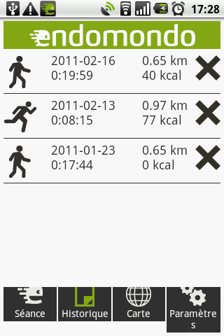 Endomondo Sports Tracker c