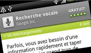 Recherche vocale: Ne tapez plus vos recherches sur le Web!