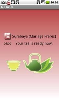 minuteur pour le thé c