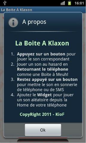 GRATUIT KLAXON TÉLÉCHARGER BRUITAGE