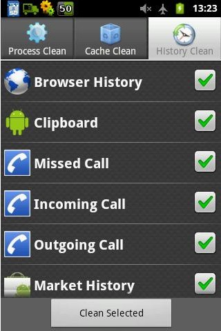 Android System Cleaner c