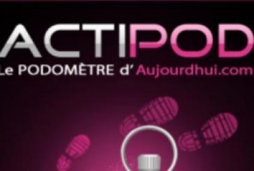 Podomètre Actipod: Transformez votre Android en Podomètre!