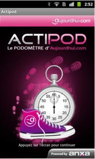 Podomètre Actipod b