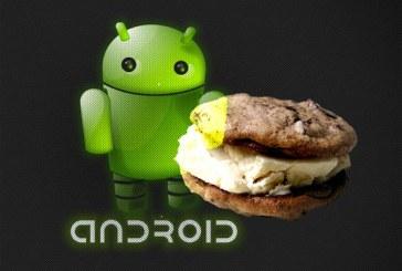 Les premières images officielles d'Ice Cream Sandwich !