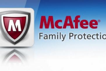 McAfee Family Protection: Protégez vos enfants d'Internet!