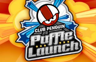 Puffle Launch: Un jeu d'action au rythme délirant!