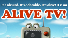 Alive TV Free Live Wallpaper: Un fond d'écran interactif !