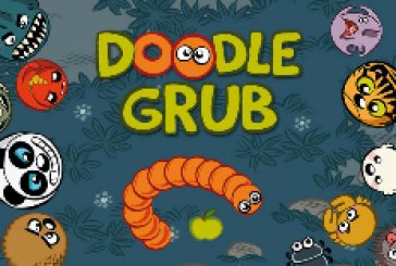 Doodle Grub: une adaptation moderne du jeu Snake