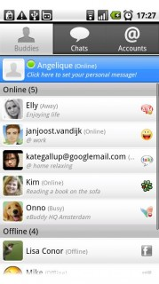 eBUddy Messenger b