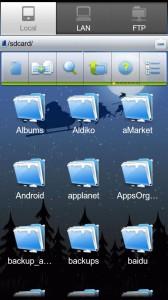 ES File Explorer c