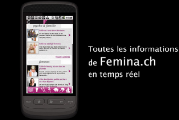 Femina: Tout le magazine dans votre mobile!