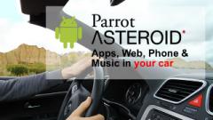 Parrod Asteroid: Un autoradio sous Android!