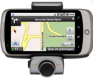 Parrot MINIKIT Smart: Le support Bluetooth et chargeur