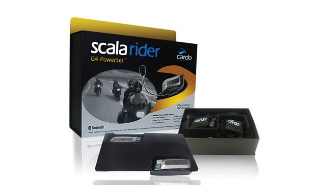 Cardo Scala Rider G4 PowerSet: Pour les motards!