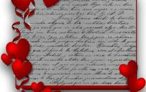 Lettre d'amour : en manque d'inspiration ?