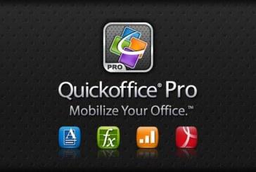 QuickOffice Pro: la suite bureautique indispensable sur Android