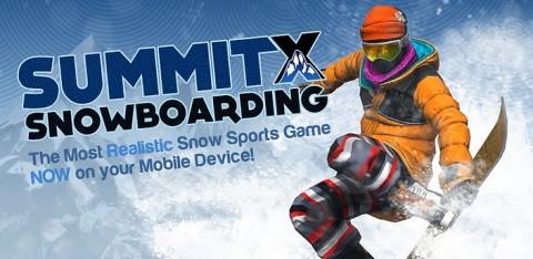 SummitX Snowboarding: retrouvez les sensations du snow sur Android
