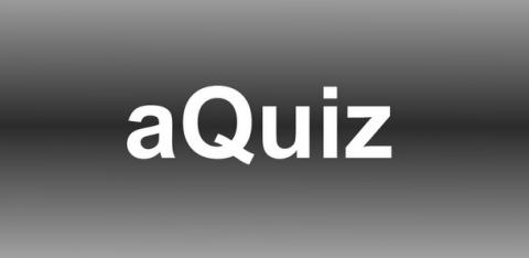 aQuiz: Le quiz, un quiz de culture générale sur Android