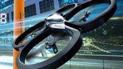 Read more about the article AR Drone Parrot: Pilotez ce drôle d'engin depuis Android!