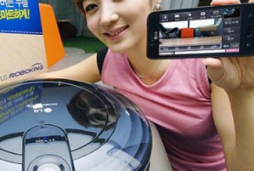 LG RoboKing Triple Eye: Piloter cet aspirateur depuis votre Android!