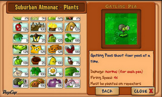 Plants vs Zombies c