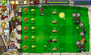Plants vs Zombies d