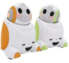 PaPeRo : le robot piloté sous Android