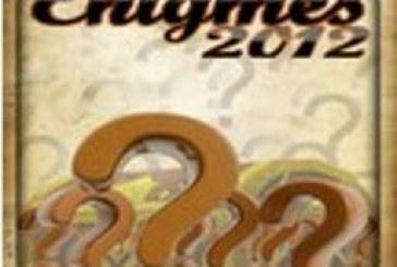 Enigmes 2012 : le remue-méninge