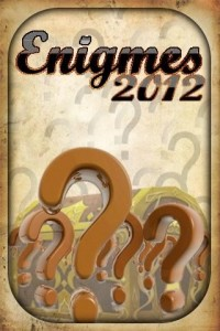 Enigmes 2012 b