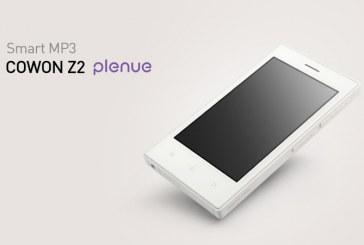 Cowon tente de se rattraper avec le Z2 Plenue, un PMP sous Android