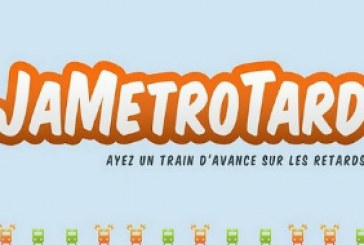 JaMétroTard: Ayez un train d'avance sur les retards!