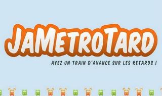 JaMétroTard: Ayez un train d'avance sur les retards!