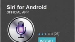 Read more about the article Siri pour Android: un fake effacé du Market