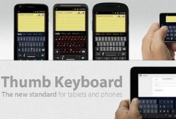 Thumb Keyboard: Un clavier virtuel pour mobile et tablette!