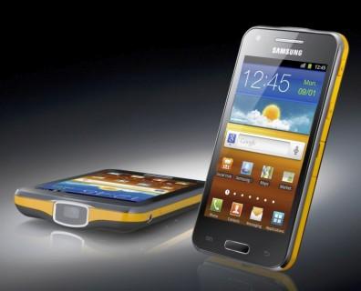 MWC 2012: Samsung annonce un téléphone avec un vidéoprojecteur