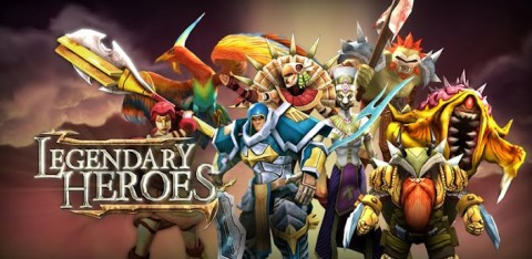 Legendary Heroes: Un RTS sur Android