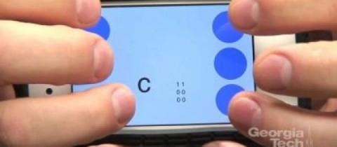Braille Touch: une application pour le braille en approche