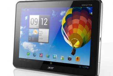 L'Iconia Tab A510: Acer passe en mode ICS