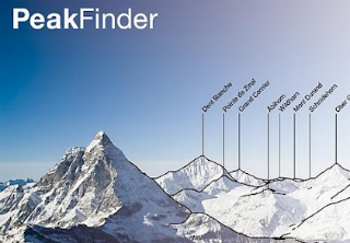 Read more about the article PeakFinder ALPS: La table d'orientation mobile pour Android!