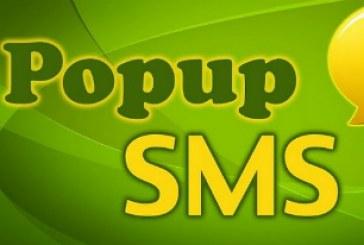 Popup SMS: Soyez alerté différemment!