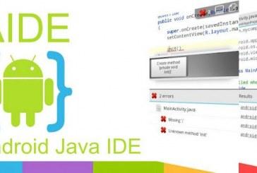 Aide-Android Java IDE: Développez vos applications Android depuis votre appareil