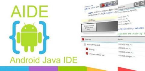 Read more about the article Aide-Android Java IDE: Développez vos applications Android depuis votre appareil