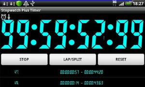 Chronom tre et minuteur soyons pr cis android zone - Chronometre et minuteur ...